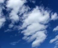 Céu nebuloso imagem de stock royalty free