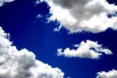 Céu nebuloso Fotografia de Stock Royalty Free
