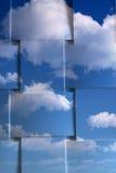Céu nebuloso Imagens de Stock