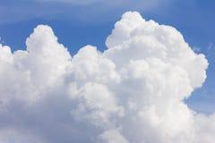 Céu nebuloso foto de stock