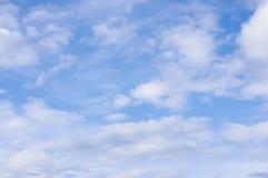 Céu nebuloso Fotos de Stock Royalty Free
