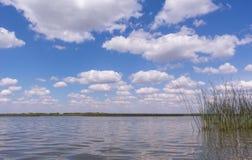 Céu nebuloso Fotos de Stock