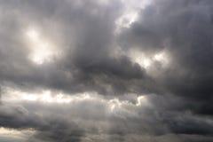 Céu nebuloso 2 Imagem de Stock