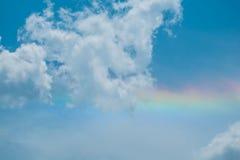 Céu nebuloso antes da tempestade Fotografia de Stock Royalty Free