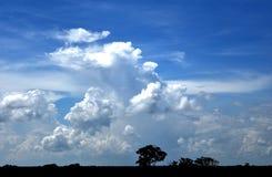 Céu nebuloso Bangladesh Imagens de Stock