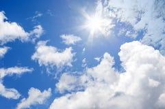 Céu nebuloso bonito Imagem de Stock Royalty Free