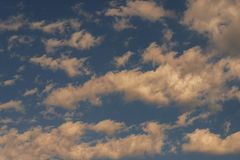 Céu nebuloso movente Fotografia de Stock Royalty Free