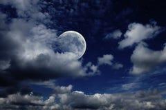 Céu nocturno Fotografia de Stock