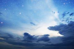 Céu nocturno Fotos de Stock