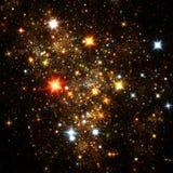 Céu nocturno estrelado Foto de Stock Royalty Free