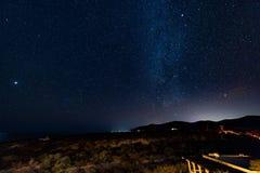 Céu nocturno estrelado Imagem de Stock Royalty Free