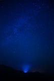 Céu noturno Imagens de Stock