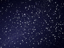 Céu noturno abstrato da estrela Foto de Stock