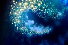 Céu noturno com estrelas fotografia de stock royalty free