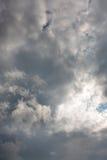 Céu nublado Fotografia de Stock Royalty Free