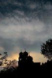 Céu ortodoxo Imagens de Stock