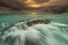 Céu, por do sol, nascer do sol Foto de Stock