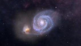 Céu profundo da exploração do espaço de Andromeda Galaxy ilustração royalty free