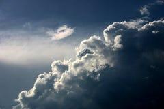 Céu profundo do céu Imagem de Stock Royalty Free