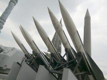 Céu Rockets imagens de stock royalty free