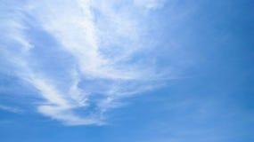 Céu sobre o sae Fotografia de Stock Royalty Free