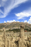 Céu surpreendente do EL sombrero de la dama Fotos de Stock