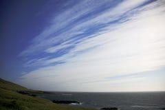 Céu surpreendente Islândia foto de stock