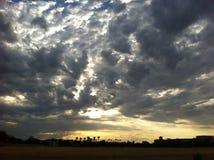 Céu tormentoso Fotos de Stock Royalty Free