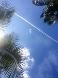 Céu tropical Foto de Stock Royalty Free