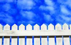 Céus azuis adiante Foto de Stock Royalty Free