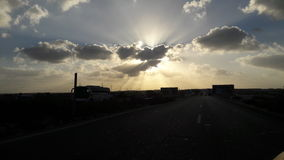 Céus da costa norte de Egito fotos de stock royalty free