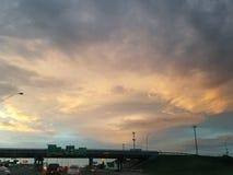 Céus de Oklahoma Imagem de Stock Royalty Free