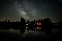 Céus de Wyoming Foto de Stock