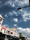 Céus desobstruídos Imagem de Stock