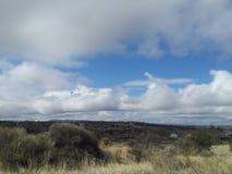 Céus do Arizona fotografia de stock