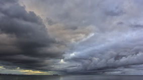 Céus do inverno Imagem de Stock