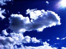Céus e nuvens Fotos de Stock