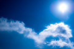 Céus ensolarados Imagem de Stock