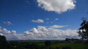 céus ireland do verão Imagem de Stock