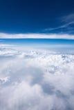 Céus nebulosos Imagens de Stock Royalty Free