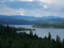 Céus sobre montes e montanhas Imagem de Stock Royalty Free
