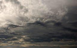 Céus tormentosos Imagem de Stock