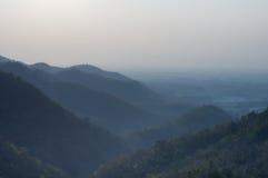 Cênico bonito da montanha Fotografia de Stock Royalty Free