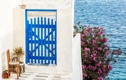Cícladas diseñan en la isla de los Milos Fotografía de archivo