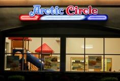 Círculo ártico Fotografia de Stock Royalty Free