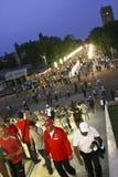 Círculo 2012 de qualificação do euro (grupo D) Romania-France Imagens de Stock