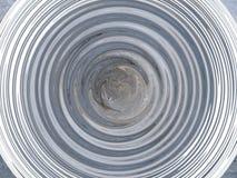 Círculo abstracto bajo la forma de ondas imagen de archivo