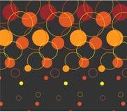 Círculo abstracto de Backround Foto de archivo
