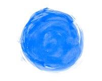 Círculo abstracto de la acuarela Fotografía de archivo libre de regalías
