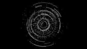 Círculo abstracto de la tecnología libre illustration